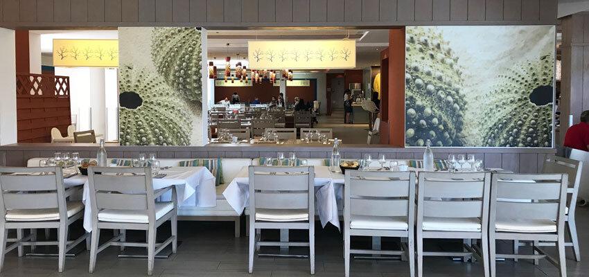 Restaurant im Club Med Da Balaia