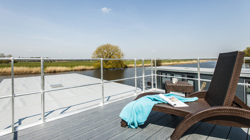 Bootsmann Dachterrasse-Hausboot