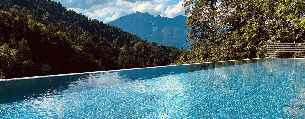 Das Graseck in Garmisch - Infinitypool auf dem Dach