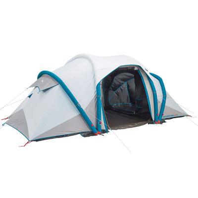 campingzelt air seconds family fresh black decathlon trips4kids. Black Bedroom Furniture Sets. Home Design Ideas
