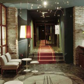 Lobby im Hotel Miramonte