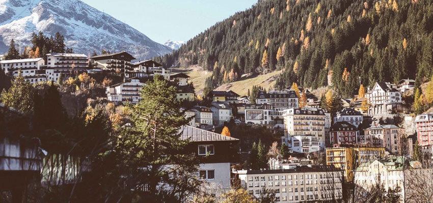 Bergblick im Hotel Miramonte in Bad Gastein