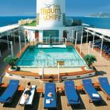 MS Deutschland - Pool auf dem Deck