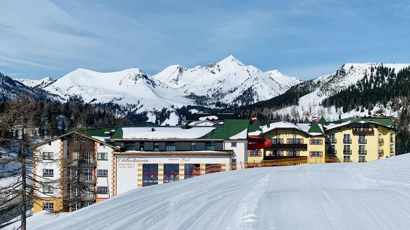 Hotel-Glöcknerin, Obertauern, Abfahrt direkt zum Hotel @ Foto: Trips4Kids.de, Andrea Fischer