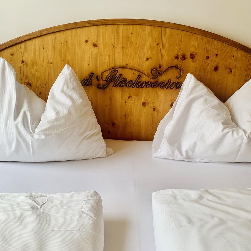 Hotel Glöcknerin - Betthaupt @ Foto: Trips4Kids.de, Andrea Fischer