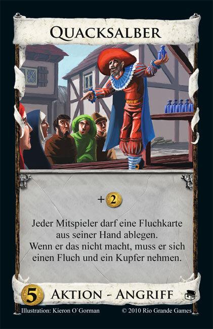 Die Quacksalber von Quedlinburg Karte von Schmidt Spiele