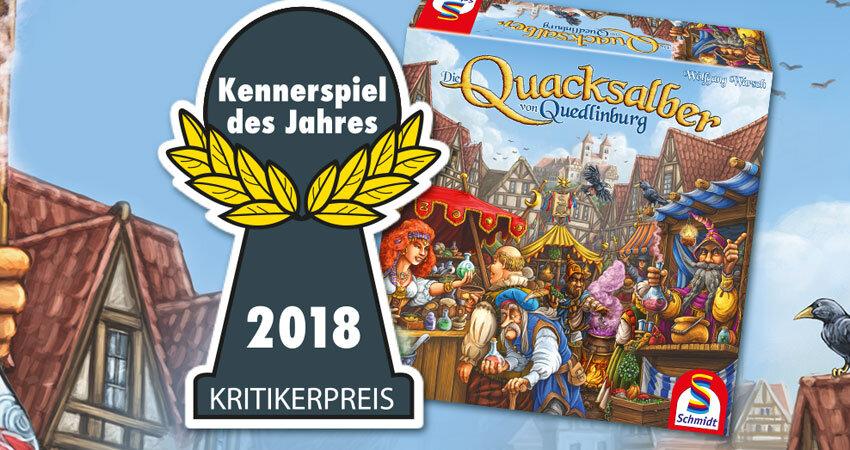 Die Quacksalber von Quedlinburg Kennerspiel des Jahres 2018