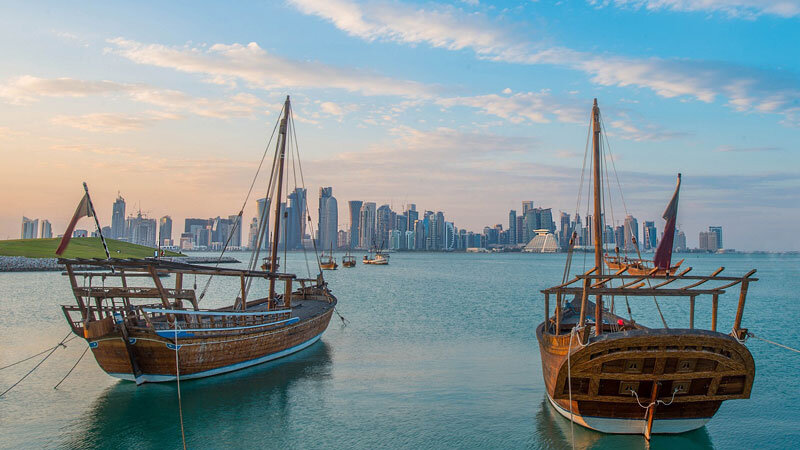 Doha Skyline Copyright: Qatar-Tourismus