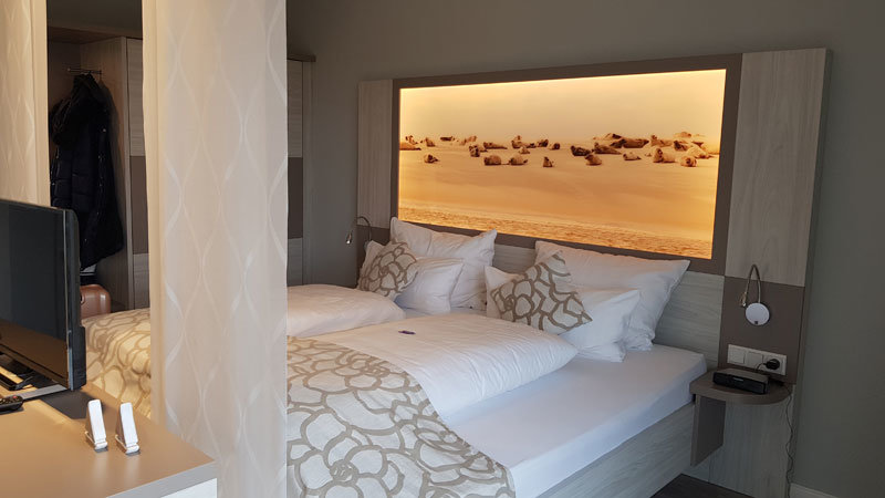 Doppelzimmer-NordseeLodge @ Foto: Nadine Sorgenfrei