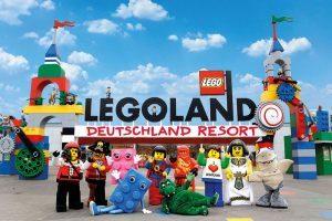 Eingangsportal Legoland Deutschland
