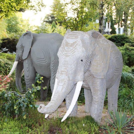 Elefanten-Legoland