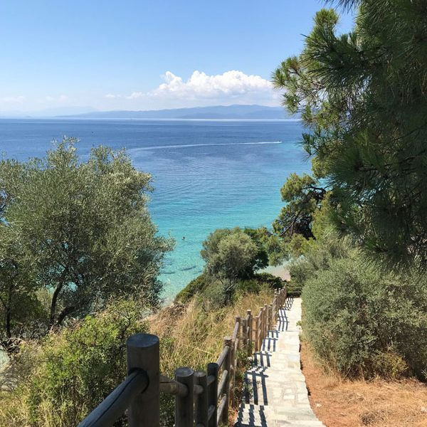 Elivi Resort Weg zum Strand