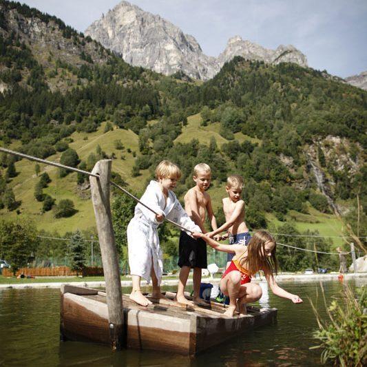 Feuerstein-Sommer-Floss © Naturresort Feuerstein