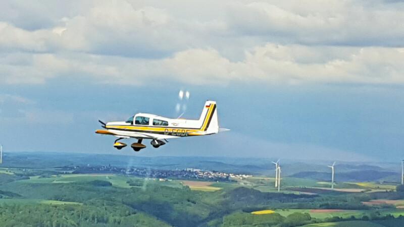 Sportflugzeug Südwestpfalz © Foto: Nadine Sorgenfrei