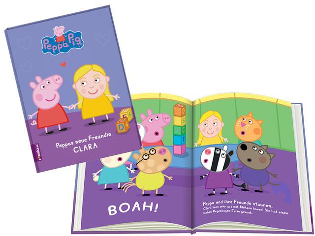 Framily Blick ins Buch Peppa Pig