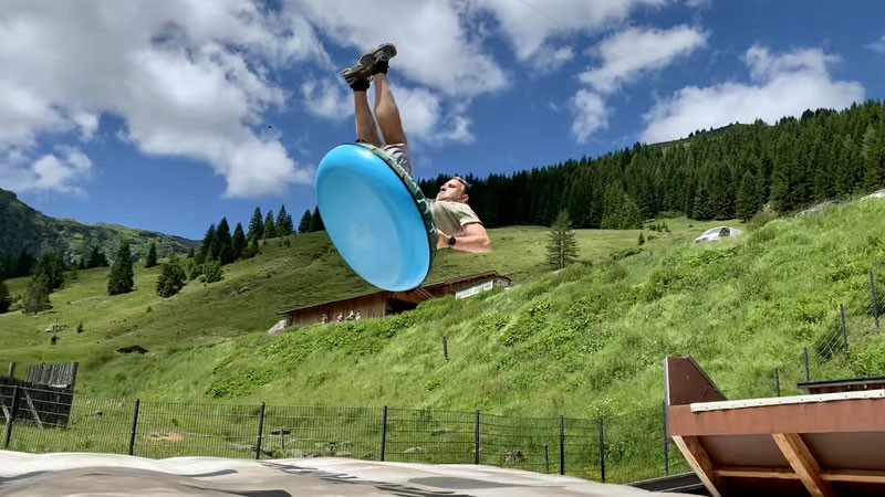 Jump & Slide- Fun im Talschluss, Saalbach-Hinterglemm @ Foto: Trips4Kids.de, Andrea Fischer