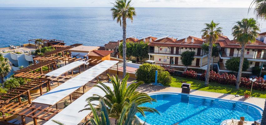Galoresort Madeira - Blick von oben