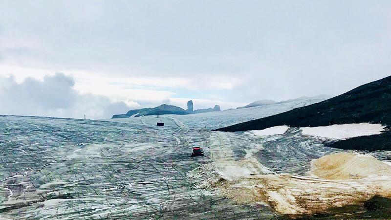 Glacier3000-Skyline Gletscher Foto: Andrea Fischer
