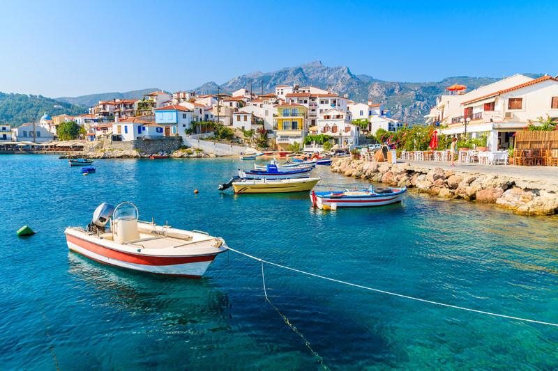 Griechenland baie d _kokkari @Foto: Click & Boat
