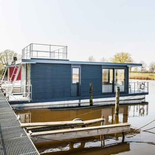 Hausboot-Bootsmann-Lodge