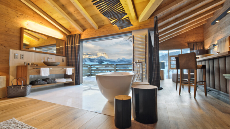 Hotel Fanes -Chalet 2 © Hotel Fanes