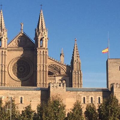 Blick auf die Kathedrale in Palma