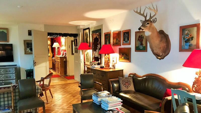 Salon, Hotel du Pillon, Les Diablerets ©Andrea Fischer