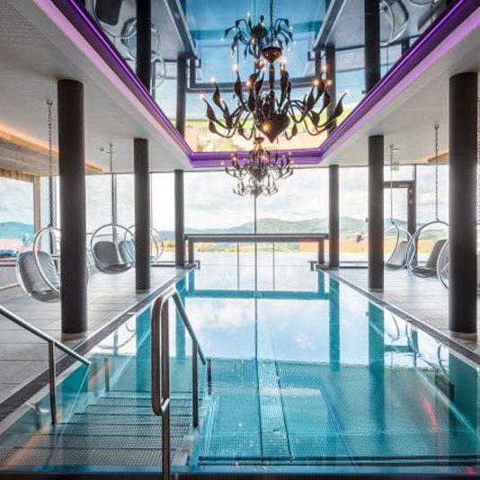 Hotel Huettenhof Indoorpool