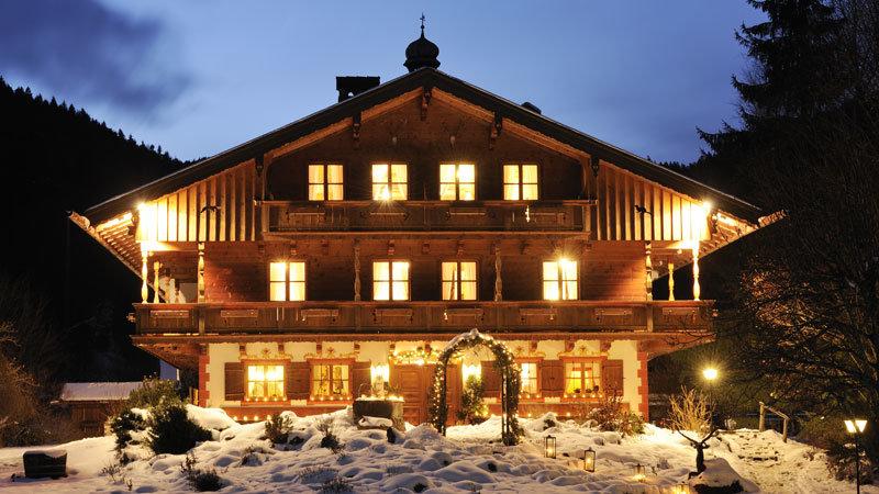 Ignazhof im Winter Aussenansicht- Bild: Guenter Standl