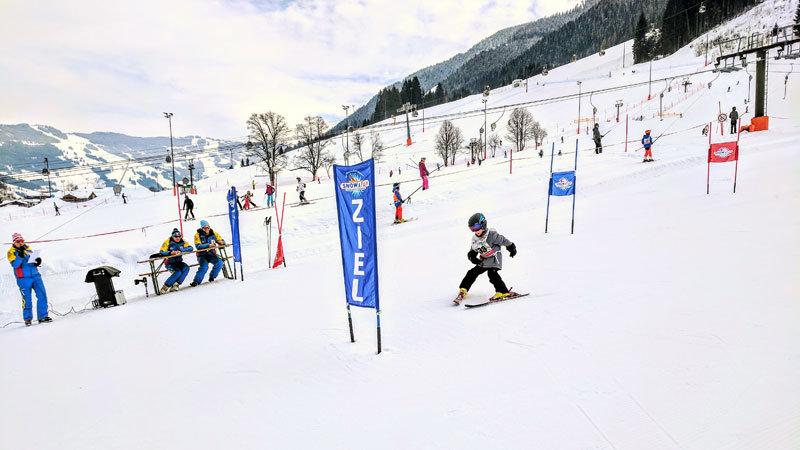 Skirennen, Skischule Saalbach-Hinterglemm