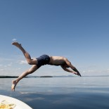 Sommerzeit-Badezeit