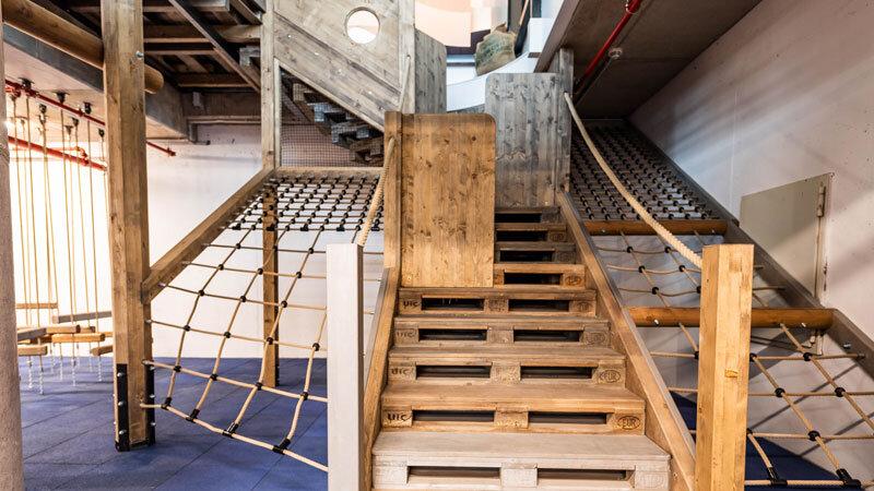JUFA Hotel Hamburg HafenCity Indoor-Spielplatz