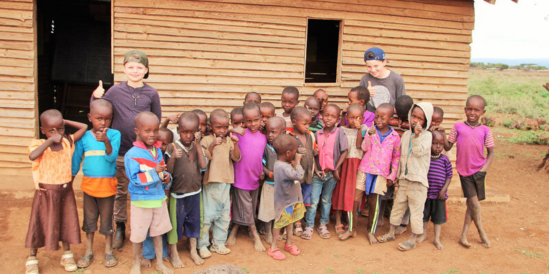 Kenia_Besuch einer Schule_im_Massai Dorf Bild A.Friedlaender
