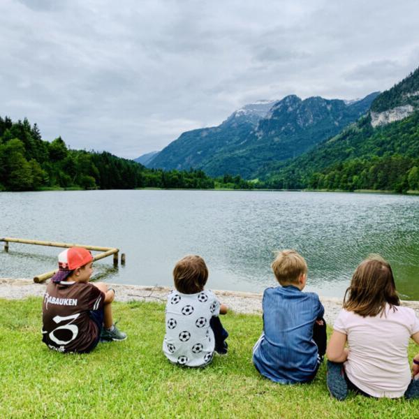 Kinder-Reintalersee Alpbachtal © Foto: Andrea