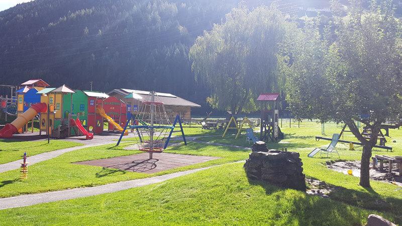 Spielplatz Kinderhotel Felben Foto: © Aline Scheuböck, Trips4Kids.de