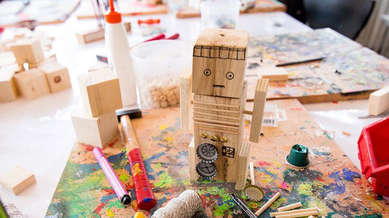 Holzwerkstatt im Kinderreich