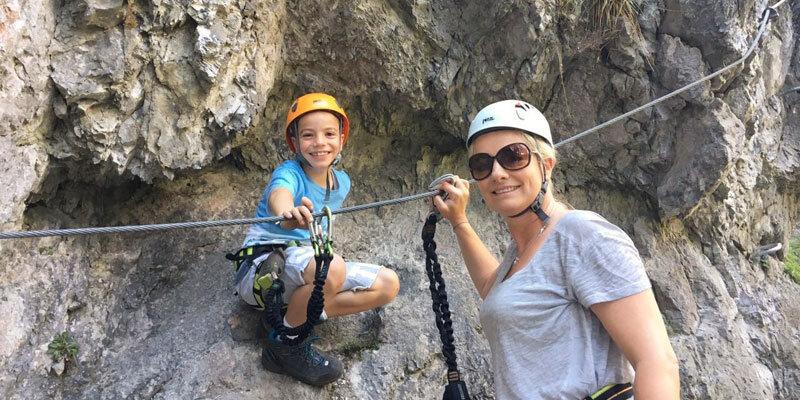 Klettersteig-Galitzenklamm