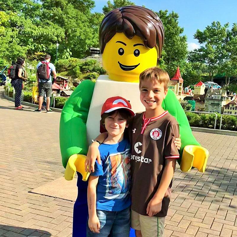 LEGOLAND-Deutschland- Lego-Männchen XXL © Foto: Andrea Fischer, Trips4Kids.de