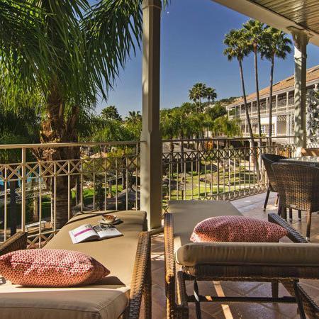 Lindner Hotel Mallorca - Terrasse