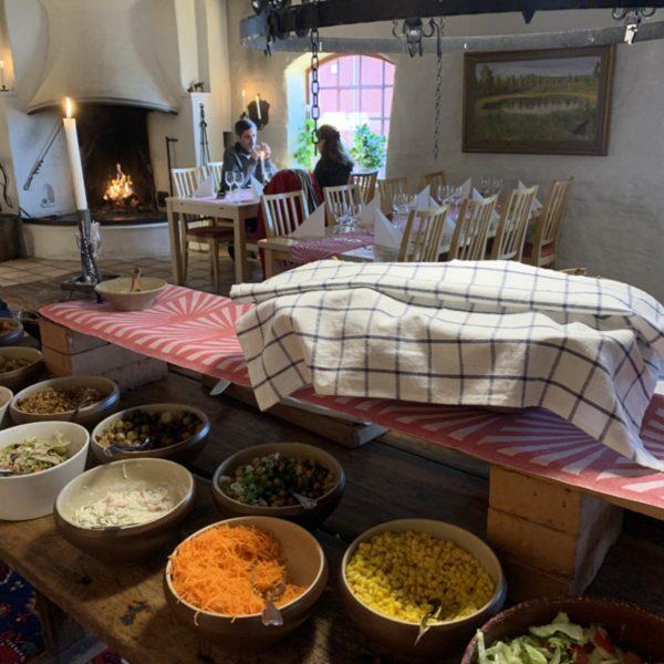 Lunch-Herrenhaus, Sahlstromsgarden, Värmland Foto: @Andrea Fischer