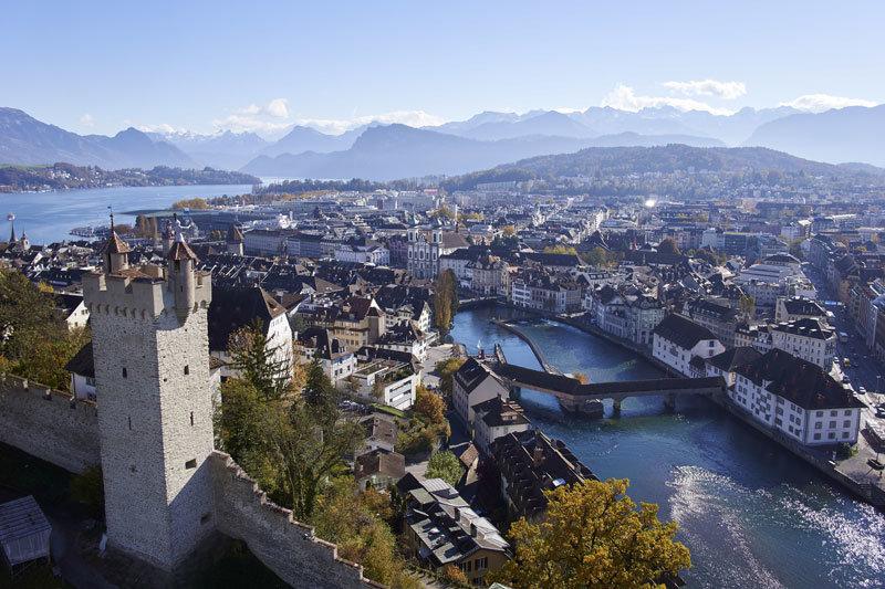 Luzern von oben