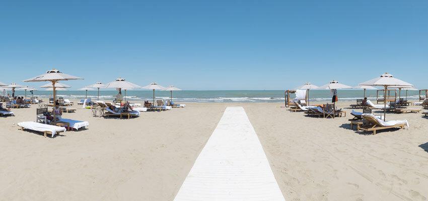 Strand des MarePineta Resorts