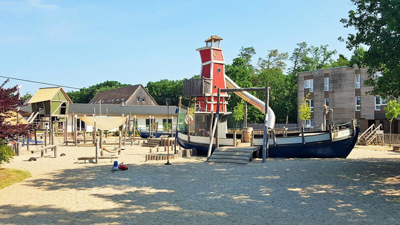 Spielplatz StrandResort Markgrafenheide Foto ©Aline Scheuböck