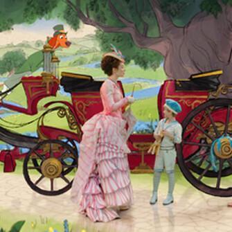 Mary-Poppins-Rückkehr Zeichentrick-Filmszene @Foto: Disney