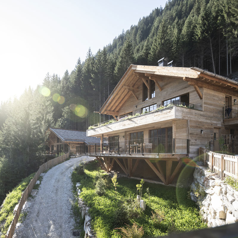 Monssilva Privat Luxury Chalets @ Foto:Alphotel Tyrol