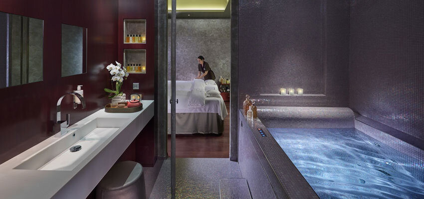 Behandlungskabine im Spa des Mandarin Oriental Paris