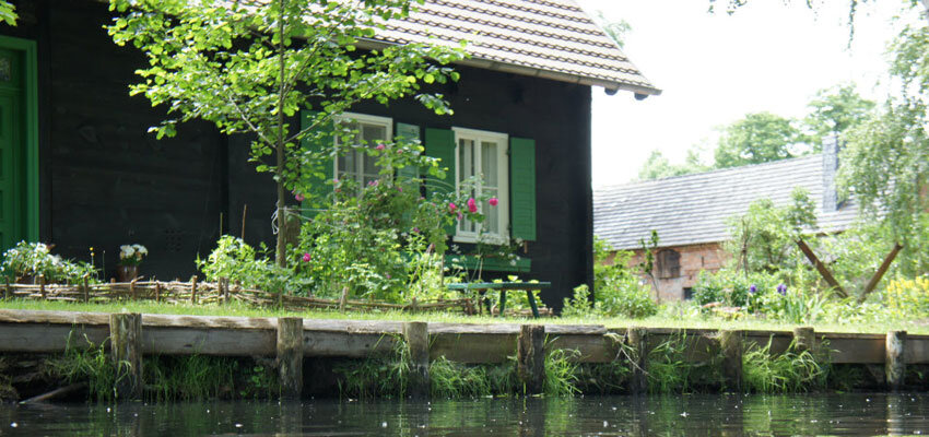 Mutschenhof Spreewald im Sommer
