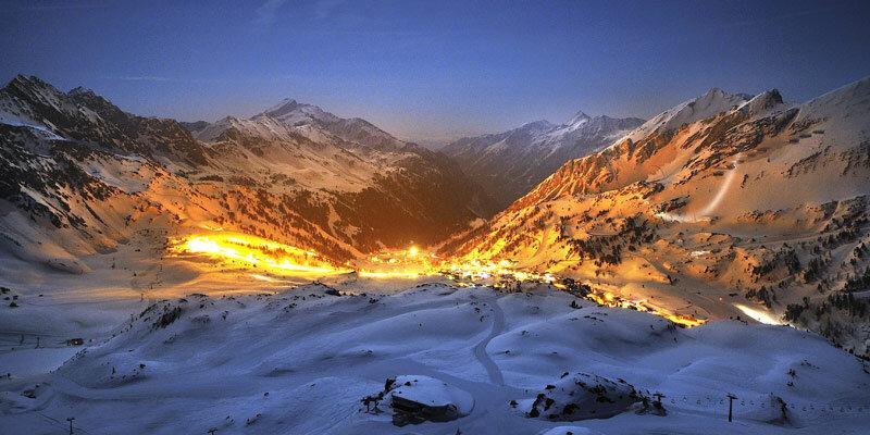 Nachtpanorama_Obertauern. Bild@ObertauernPR