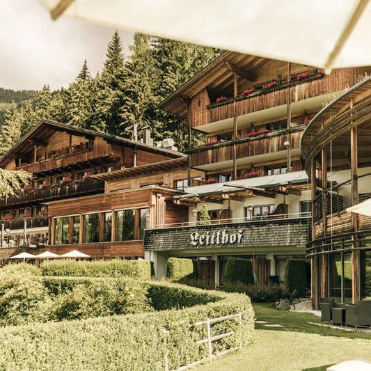 Naturhotel Leitlhof in Innichen - Aussenansicht des Hotels