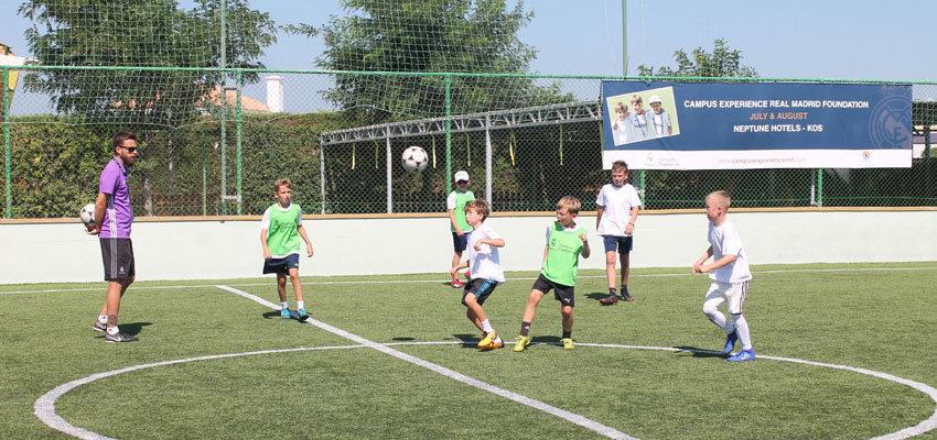 Neptune Hotels Kos Fußballcamp Real Madrid
